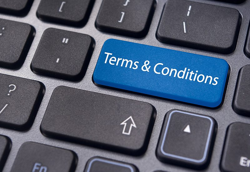 terms and conditions documents